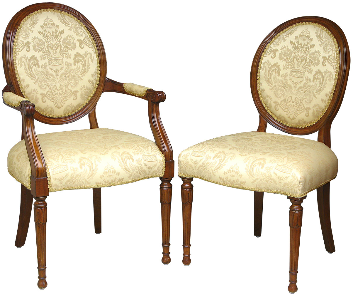 kinds of furniture styles. VictorianOvalbackChairs Kinds Of Furniture Styles A